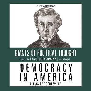 Democracy in America Hörbuch