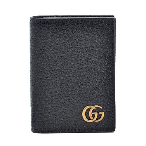 GUCCI(グッチ) 名刺入れ メンズ パスケース Men'S Gg Marmont メンズ カードケース 428737 DJ20T 1000 [並行輸入品] B075X9QKYP