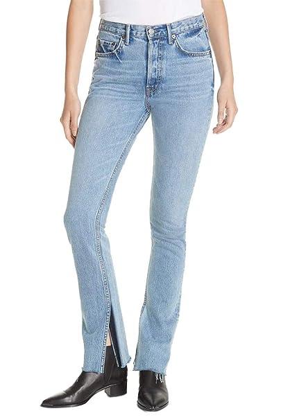 Amazon.com: GRLFRND – Pantalones vaqueros de mujer con ...