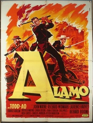 battle of the alamo poster