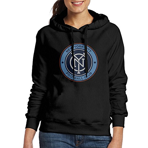 Women New York City FC Official Badge Hoodies Sweatshirts Cool Hoodies
