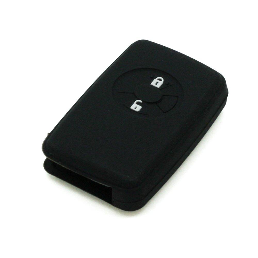 Coque en silicone Fassport pour cl/és de voiture /à t/él/écommande Toyota 2/boutons CV4406