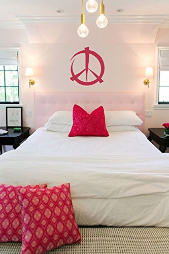 Peace Signs Graphics - Graffiti Peace Sign Symbol Vinyl Wall Words Decal Sticker Graphic