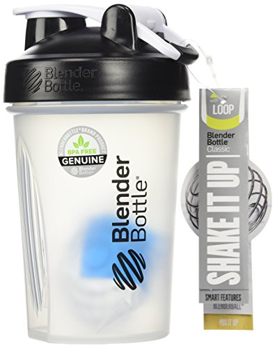 Sundesa Blenderbottle with Blenderball (20oz/Black) Pack of 2