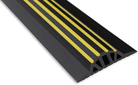 5,5 m SBD01 STEIGNER Joint d/Étanch/éit/é pour Porte de Garage Noir 33x41 mm