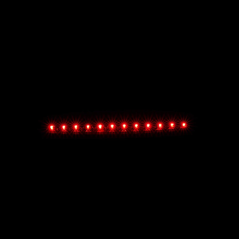 AmeriLite Smoke LED High Mount Stop 3rd Brake Lights for Ford Expedition