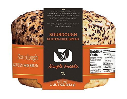 sourdough sin gluten Pan – Pack de 4: Amazon.com: Grocery ...