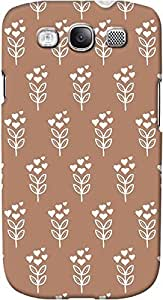 DailyObjects Blossom Sandy Case For Samsung Galaxy S3 (Back Cover) Brown