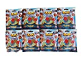 Party Favors/Party Treats Zak Storm Collectible Treasure 4-Pack Blind Pack Polybag (Bundle of 8)