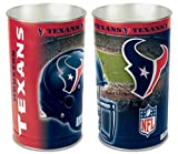 "WinCraft Houston Texans 15"" Waste Basket"