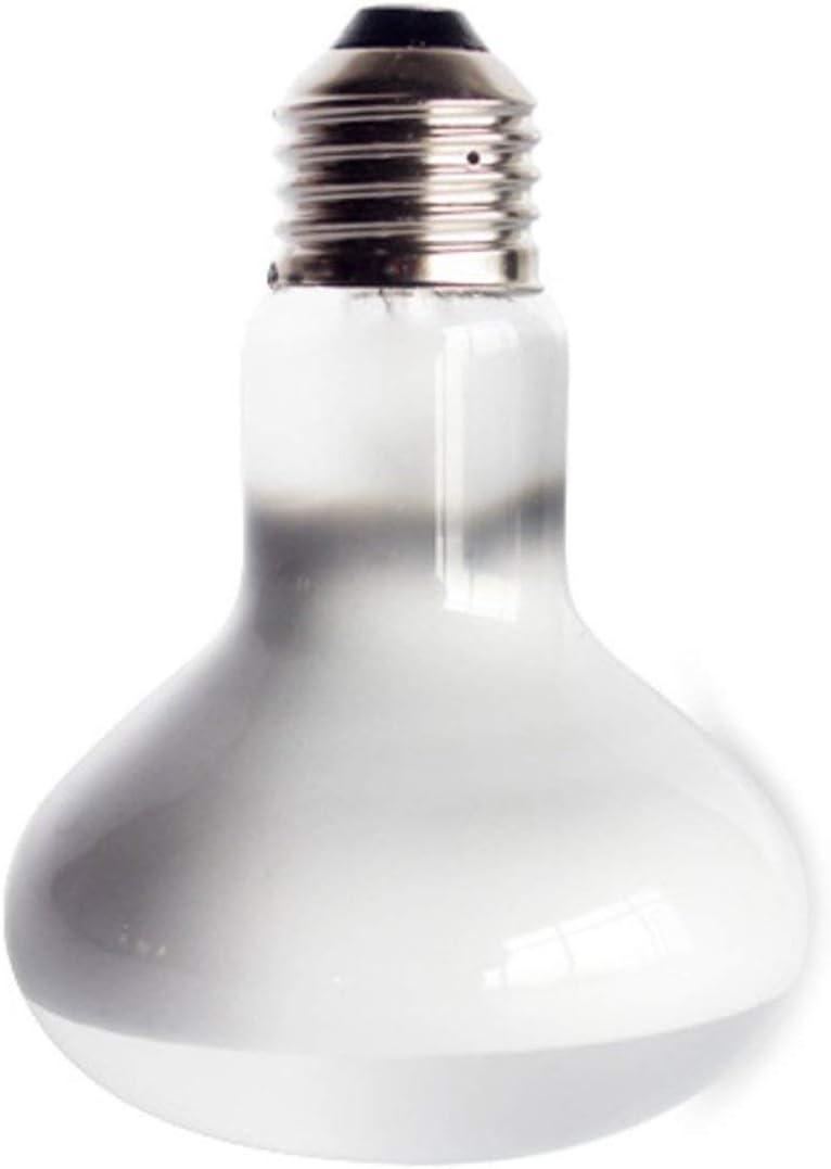 220V UVA+UVB Reptile Lamp Bulb Turtle Basking UV Light Bulbs Heating Lamp Amphibians Lizards Temperature Controller White Jasnyfall