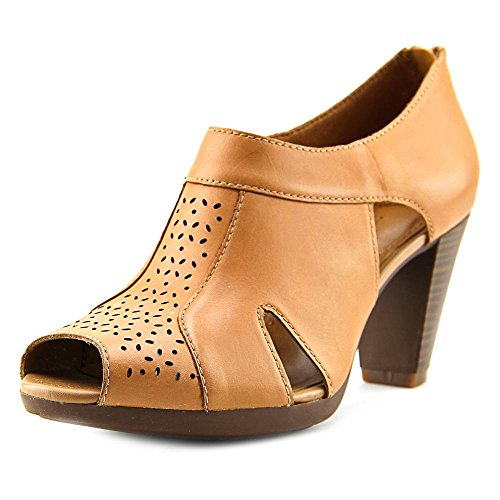 Clarks - Sandalias de vestir para mujer Beige
