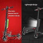 Monopattino-Elettrico-Scooter-Pieghevole-per-Adulti-Display-LCD55-inch-Motore-da-250-WDisplay-LCD-E-Roller-velocit-Massima-25KmHFacile-da-Piegare-E-Trasportareper-Adulti-E-Bambini
