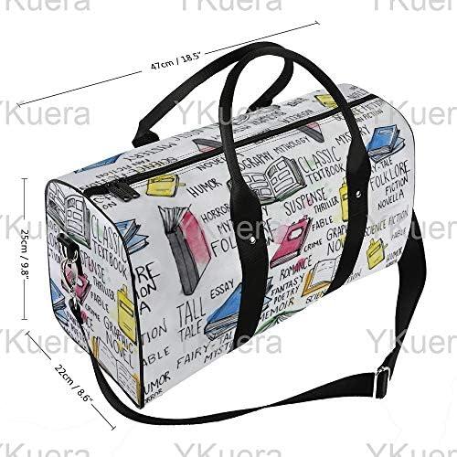 本1 旅行バッグナイロンハンドバッグ大容量軽量多機能荷物ポーチフィットネスバッグユニセックス旅行ビジネス通勤旅行スーツケースポーチ収納バッグ
