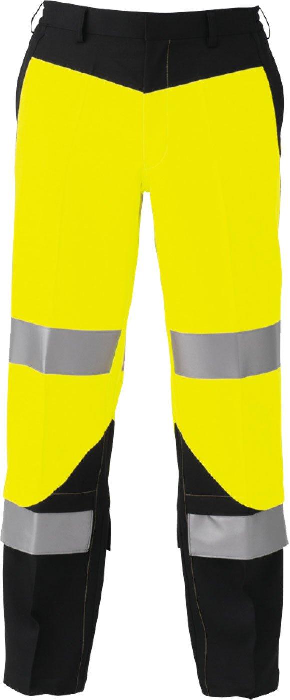 コーコス(CO-COS) 高視認性安全作業ズボン セーフティ ワークパンツ cc-cs2413 B01MA57XNO L|イエロー