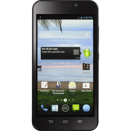 ZTE TWZEZ797CP Total Wireless Quartz Prepaid Android Smartphone by ZTE