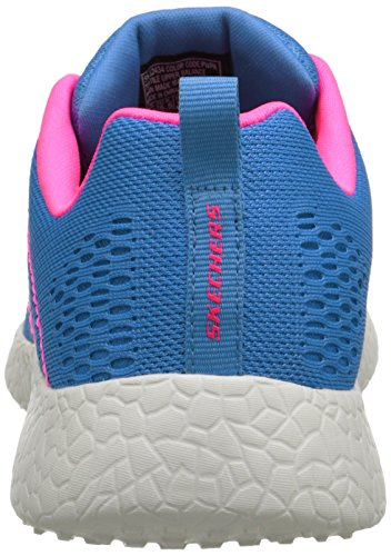 Blue Burst Botas Influence New Skechers Pink Mujer TwxnCAAq7