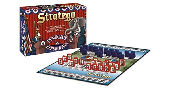 USAopoly Democrats vs Republicans Stratego by USAopoly: Amazon.es ...
