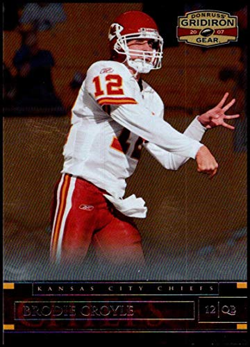 2007 Donruss Gridiron Gear #94 Brodie Croyle NM-MT Kansas City Chiefs Official NFL Football Card ()