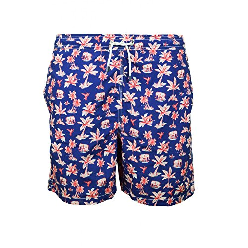 hackett-london-mens-safari-print-shorts-small-595navy