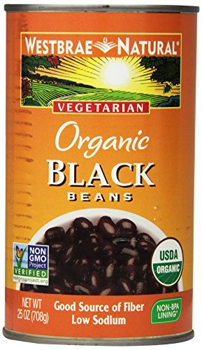 Westbrae Natural, Organic Black Beans, 25 oz by Westbrae Natural