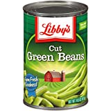 Libby's Cut Green Beans Cans, 14.5 Ounce (Pack of 12)