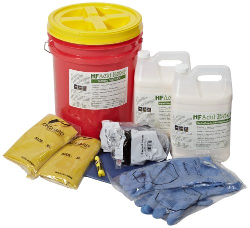Clift Industries 2901-005 HF Acid Eater Safety Spill Kit, 5-Gallon Bucket by Clift Industries, Inc.