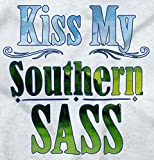 Kiss My Southern Sass Country Dixie Belle V-Neck T