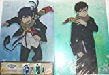 Most lottery Ao no Exorcist Blue flame again F Award Clear File Set Okumura phosphorus & Okumura Yukio separately Okumura phosphorus Okumura Yukio file BANPRESTO Banpresto