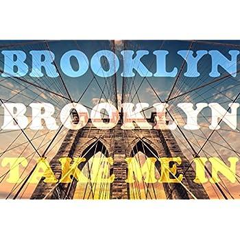 Amazoncom Brooklyn Brooklyn Take Me In Art Print Poster 12x18 Inch