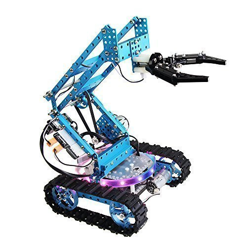 Contempo Views Ultimate Robot Kit 2.0: STEM Education Robot With 10 Configurations – Arduino – Scratch 2.0 – Makeblock – Programmable Robot for Kids & Students Learn Coding, Robotics and Electronics