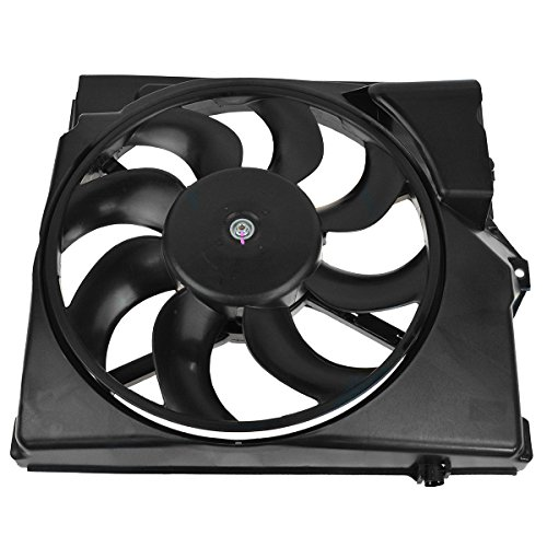 AC A/C Condenser Cooling Suction Fan w/Shroud 8 Blade for BMW E36 3 Series