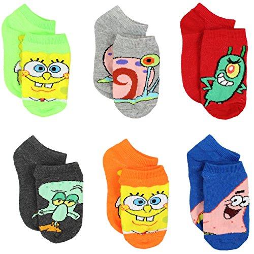Spongebob Boys Socks Toddler Little product image