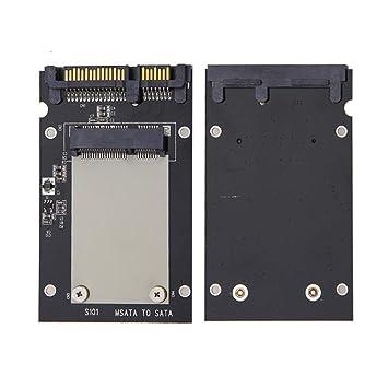 seallambYYadaptador de Tarjeta, mSATA SSD a 2,5 Pulgadas SATA III ...