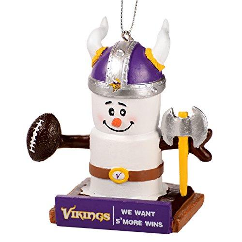 (FOCO NFL Minnesota Vikings Thematic Smores Ornamentthematic Smores Ornament, Team Color, One)