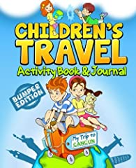 Visiting Cancun with your kids? This fun filled activity book and journal is a great way for kids to plan and record their own travel adventures and make a treasured memory book for their trip to Cancun. Cool Cancun specific crossword, word s...
