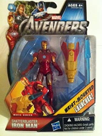Iron Man 3 Basic Action Figure Shatterblast Iron Man