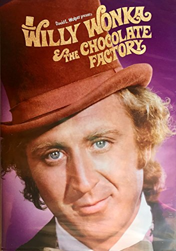 Willy Wonka and the Chocolate Factory 40th Anniversary Edition -  DVD, Rated G, Mel Stuart