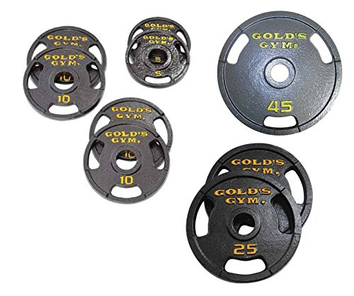 Golds Gym Olympic Plate Set