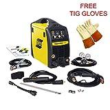 Esab Fabricator 141i MIG Stick & TIG (w/option) Welding Machine, Free Tig Gloves