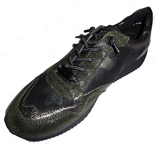 44013 Sneaker Lissabon 14 Women ara Tundra Forest FnAqfwxS5