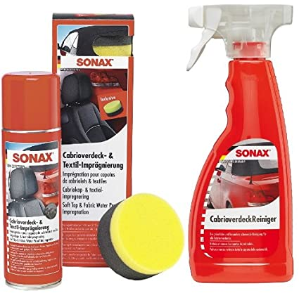SONAX Cabrio - Set para el Cuidado de Coches descapotables ...