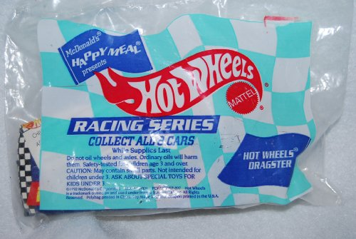 McDonalds Happy Meal 1992 Vintage Hot Wheels Dragster