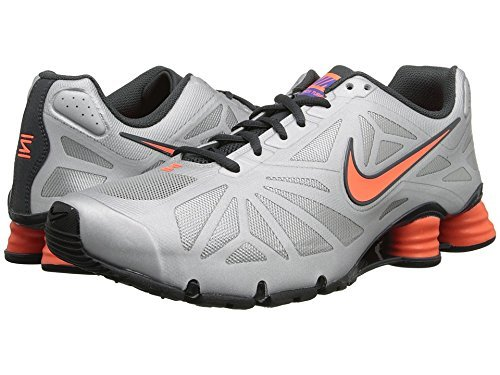 Nike Shox Turbo 14 (Metallic Silver/Hyper Crimson/Anthracite) Mens Shoes (