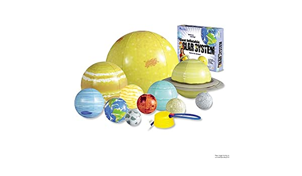 3 x recursos de aprendizaje hinchable Solar sistema Set ...