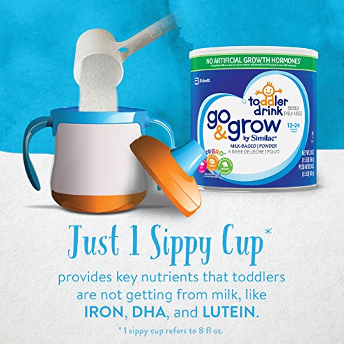 Similac Go & Grow Milk-Based Toddler Drink, Powder, 24 oz (Pack of 6) by Similac (Image #4)