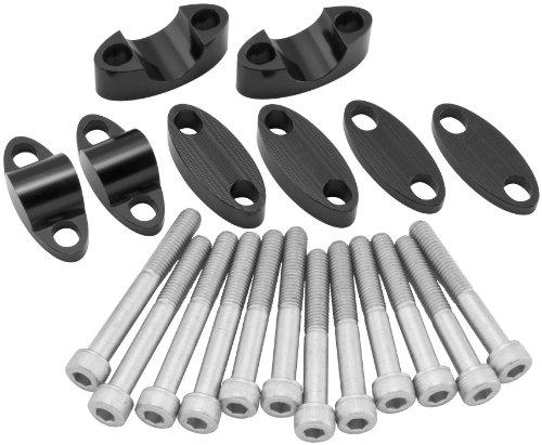 - BikeMaster Black 7/8&Prime, Handlebar Riser Kit YC-201BLK