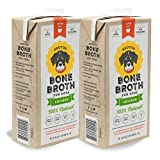 Brutus Bone Broth for Dogs | Chicken 2-Pack | Glucosamine & Chondroitin | Healthy Dog Joints