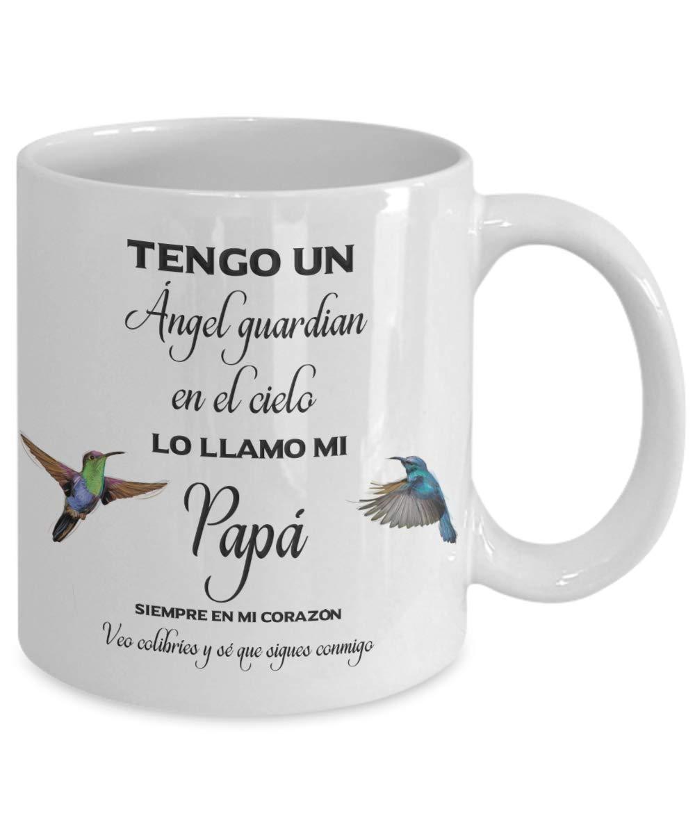 Amazon.com: Taza conmemorativa del colibrí del ángel del ...