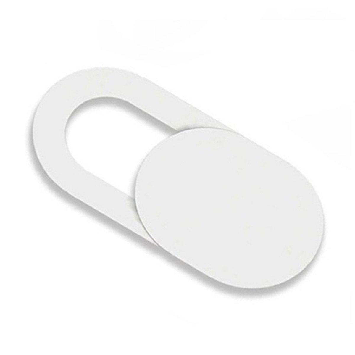 Mucjun 3pzs Pegatinas Escudo de Camara de plastico Proteccion de miradas Anti-Hacker para movil PC Tablet PC Ordenador portatil Cubierta de privacidad Negro